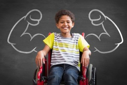 123RF Boy Wheelchair Muscles Sm