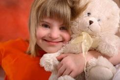 Dreamstie Girl w Teddy Bear Sm